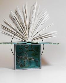 Livros Reais Imaginados: na exposição, o visitante passa a perceber as possibilidades de transformar o objeto corriqueiro em livro de arte