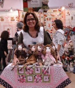 Gilse participa de feiras de artesanato