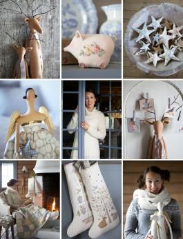 A designer norueguesa e suas criações (crédito da foto: site Tildas World)