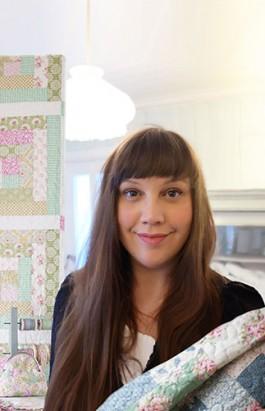 A designer norueguesa Tone Finnanger, criadora das bonecas Tilda (crédito da foto: site Tildas World)