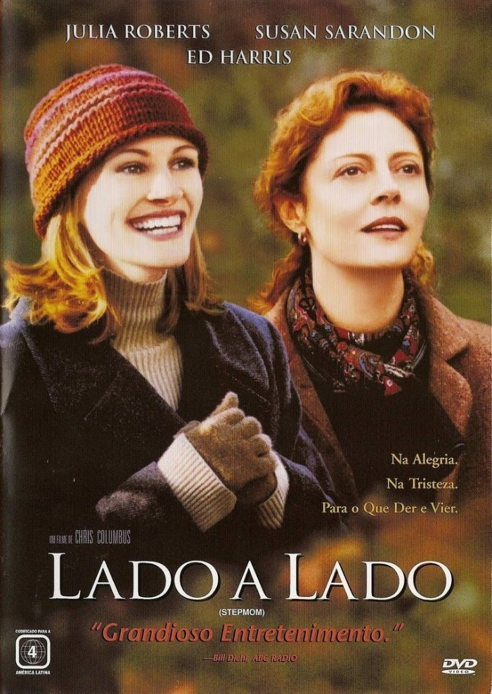 """""""Lado a lado"""" filme dirigido por Chris Columbus."""