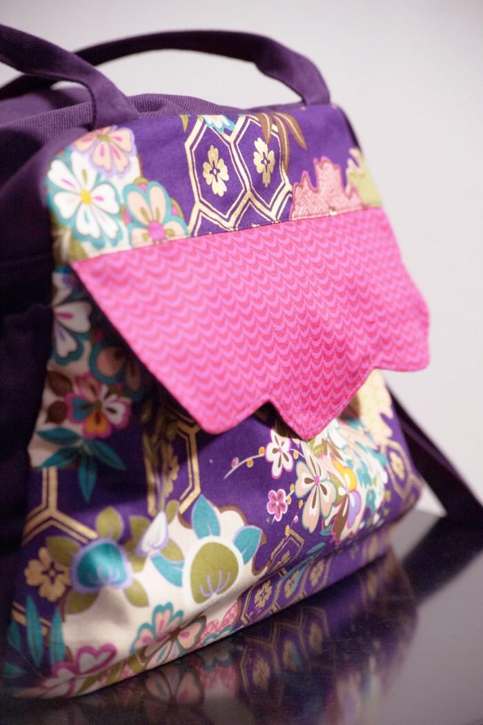 Bolsa feita por Yuji Sato, mestre bolseiro
