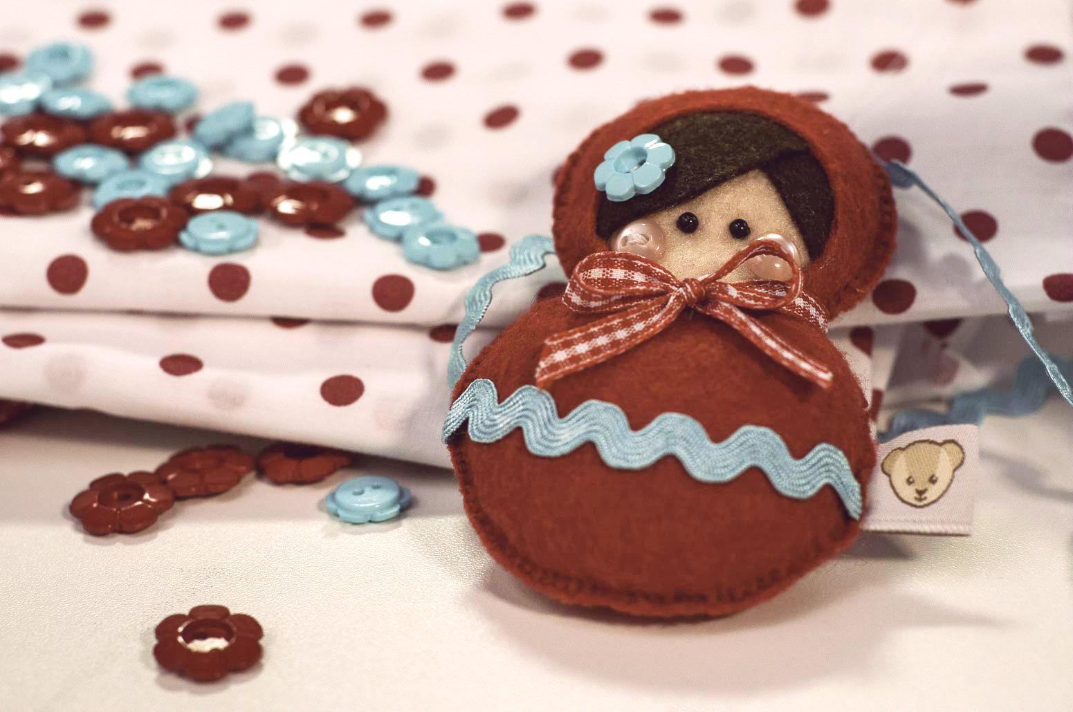 Matrioska, essas charmosas bonequinhas russas, serviram de inspiração para a artesã