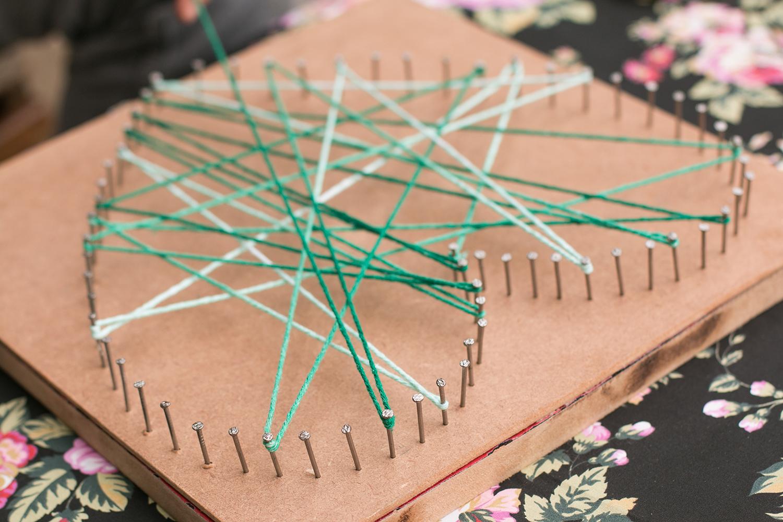 Como Fazer Um Quadro Com Barbante Conheca A String Art Passo A Passo
