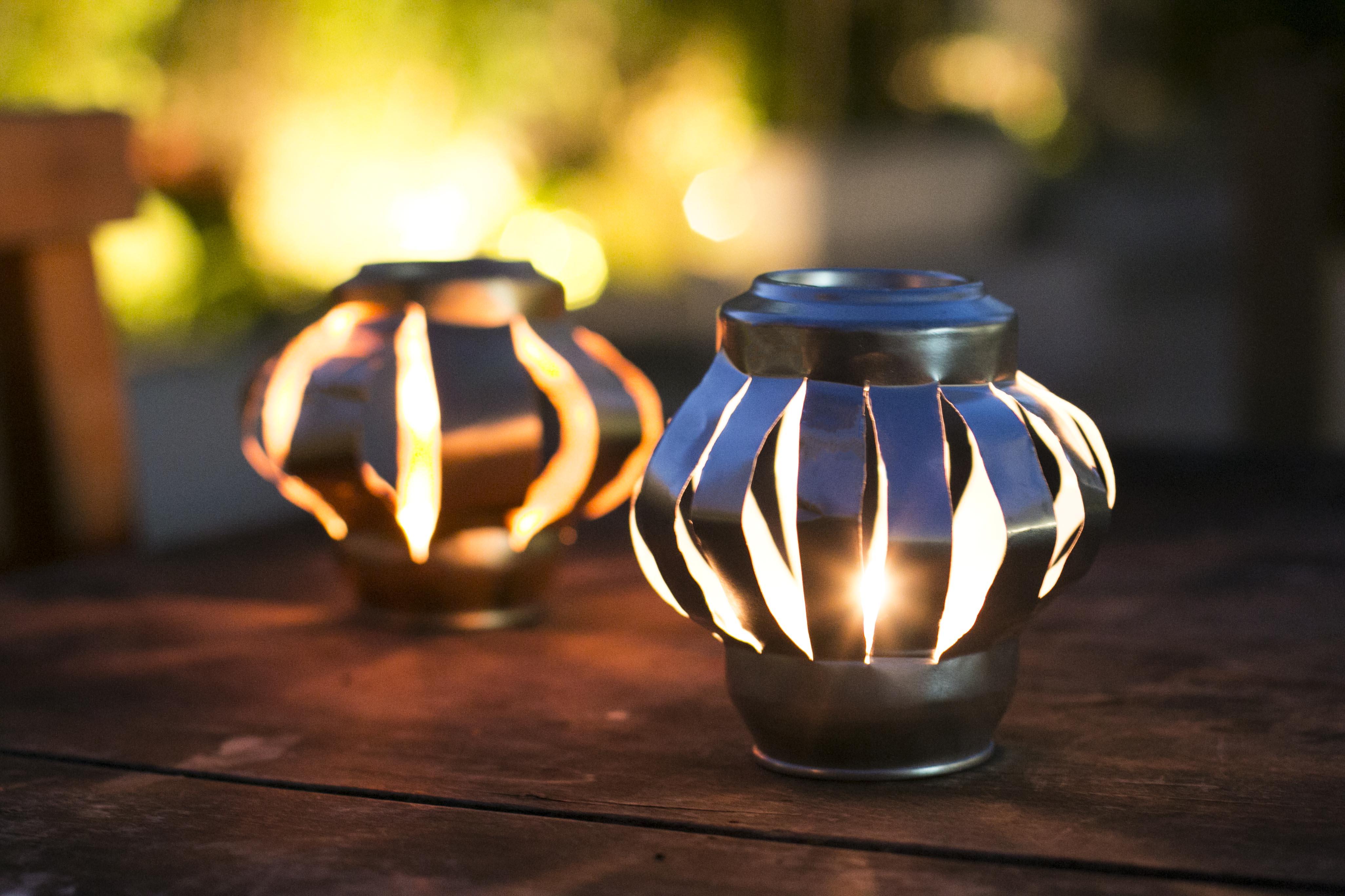 PAP: simpática lanterna de vela - Blog Artesanato e ponto