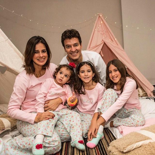 Kit Lembrancinha Sacola e Prendedor Festa do Pijama 10 unidades Cromus
