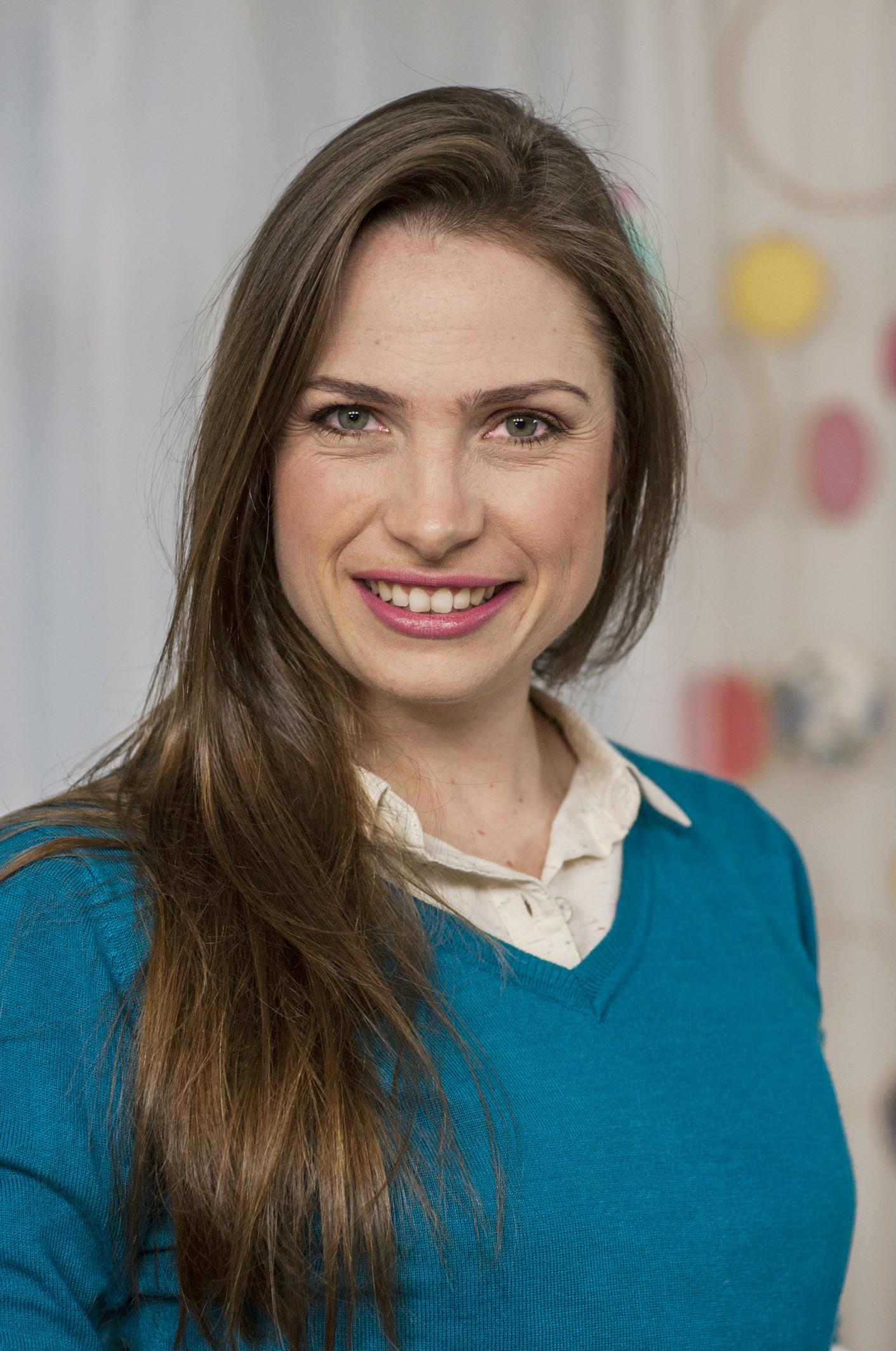 A artesã Débora Radtke