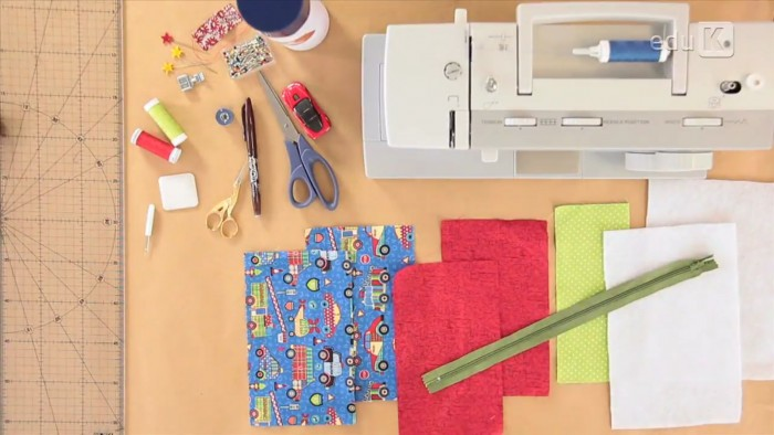 Materiais necessários para a criação do utilitário para crianças