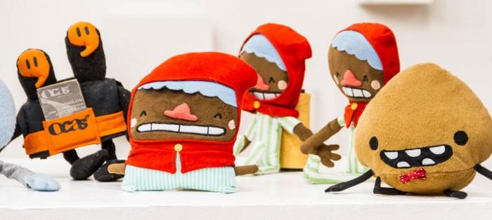 Bonecos Toy art originais do Tio Faso