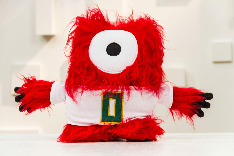 O objetivo de Faso era que cada pessoa tivesse uma reação ao olhar para o Zero, esse boneco de pano fofo