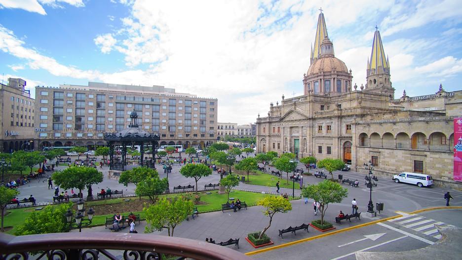 A cidade de Guadalajara, no México, onde Millyta visitou a Expo Manualidades