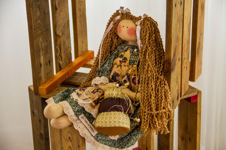 Boneca de pano: esse é um exemplo de uma boneca country de Millyta