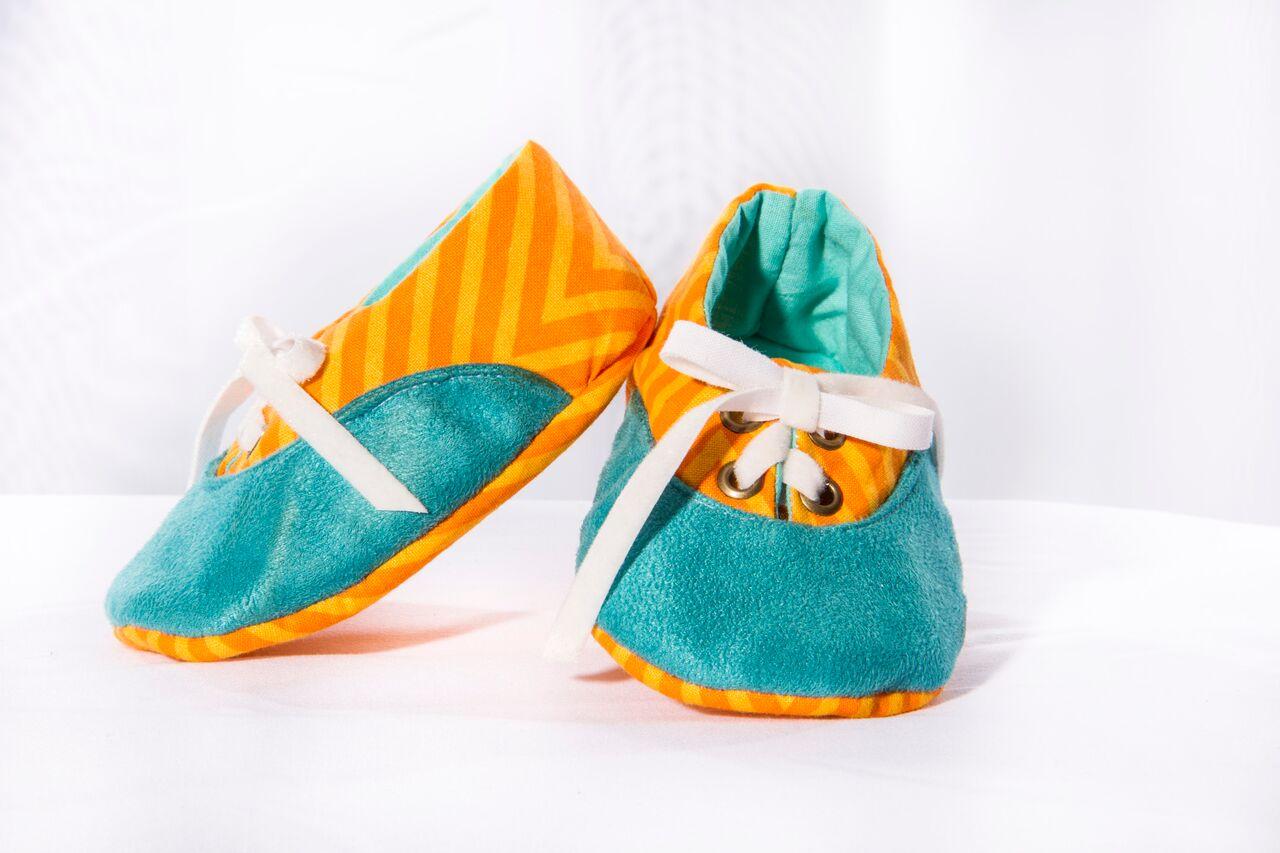 Com os sapatinhos para bebê, Nanda se firmou como artesã de sucesso