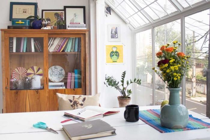 Lilou Estudio: ateliê com ambiente criativo (crédito da foto: Danieli Barbara)
