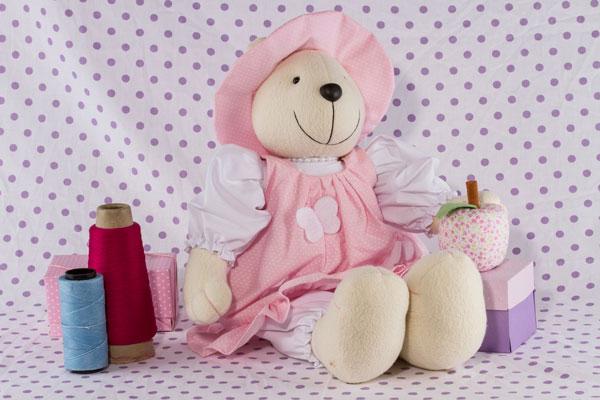 Os ursinhos usados na decoração para quarto de bebê, nunca saem de moda, garante Tati