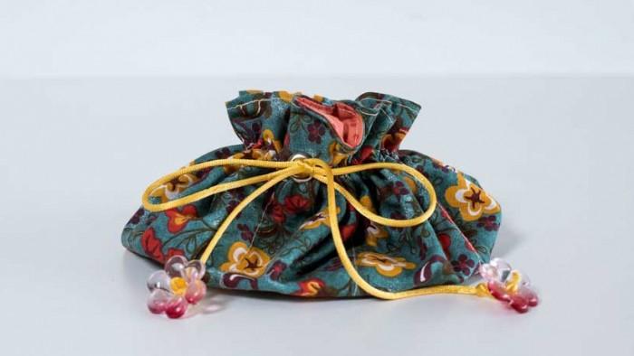 Bolsa preparada pela expert para o curso Bolsas e acessórios femininos em tecido