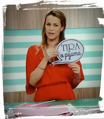 campanha tira o pijama iniciada por Carol Viana