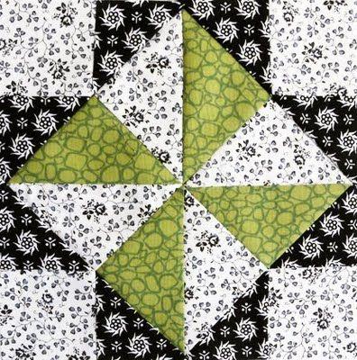 Catavento de triângulos perfeitos (crédito da foto: grandmaspearl)