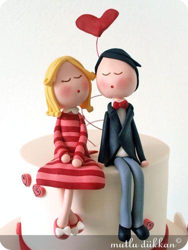 Casal de noivos (reprodução do site: mutludikkan)
