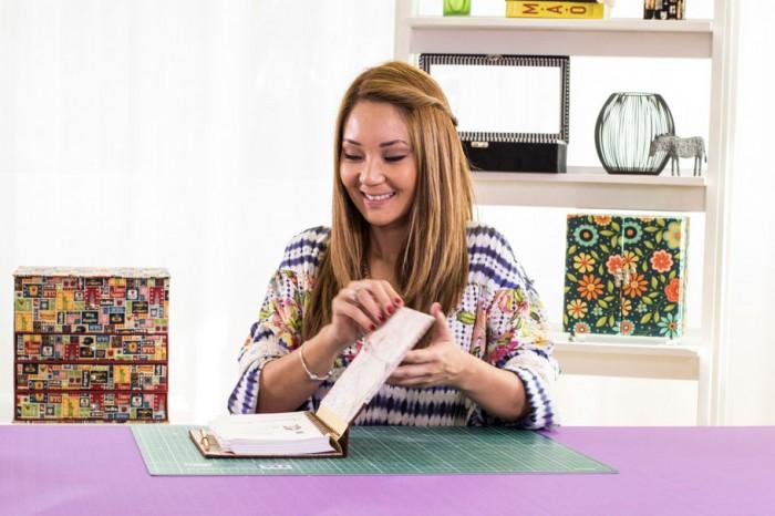 Claudia, preparando seu curso na eduK