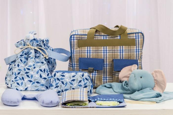 Bolsas e utilitários: bebê vai para o berçário com Carol Viana