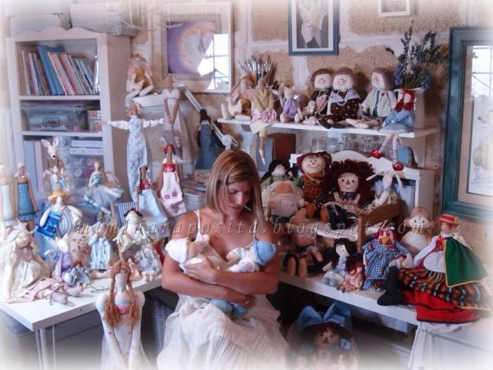 Mimi Haraposita e suas bonecas