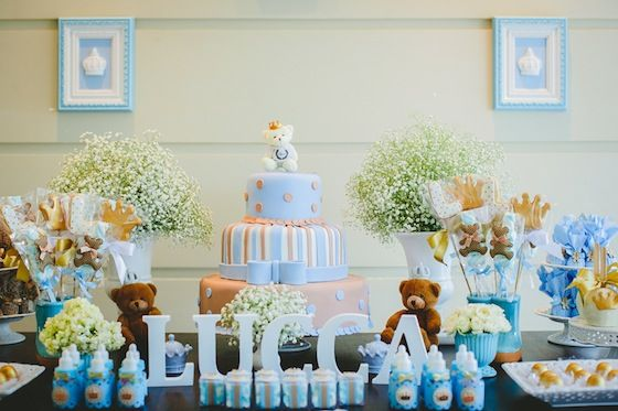 festa para bebê com ursos e cores pasteis. Os ursos se adaptam a tudo! (reprodução do site vestidademae)
