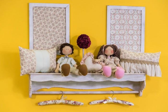 Decoração de quarto para bebê preparada por Myllita