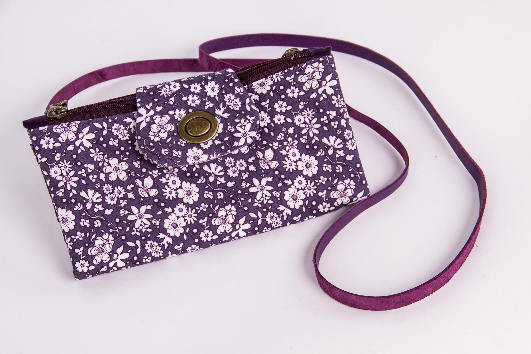 Bolsa em tecido, peça exclusiva do curso Especial de Dia das Mães: peças para fazer e vender
