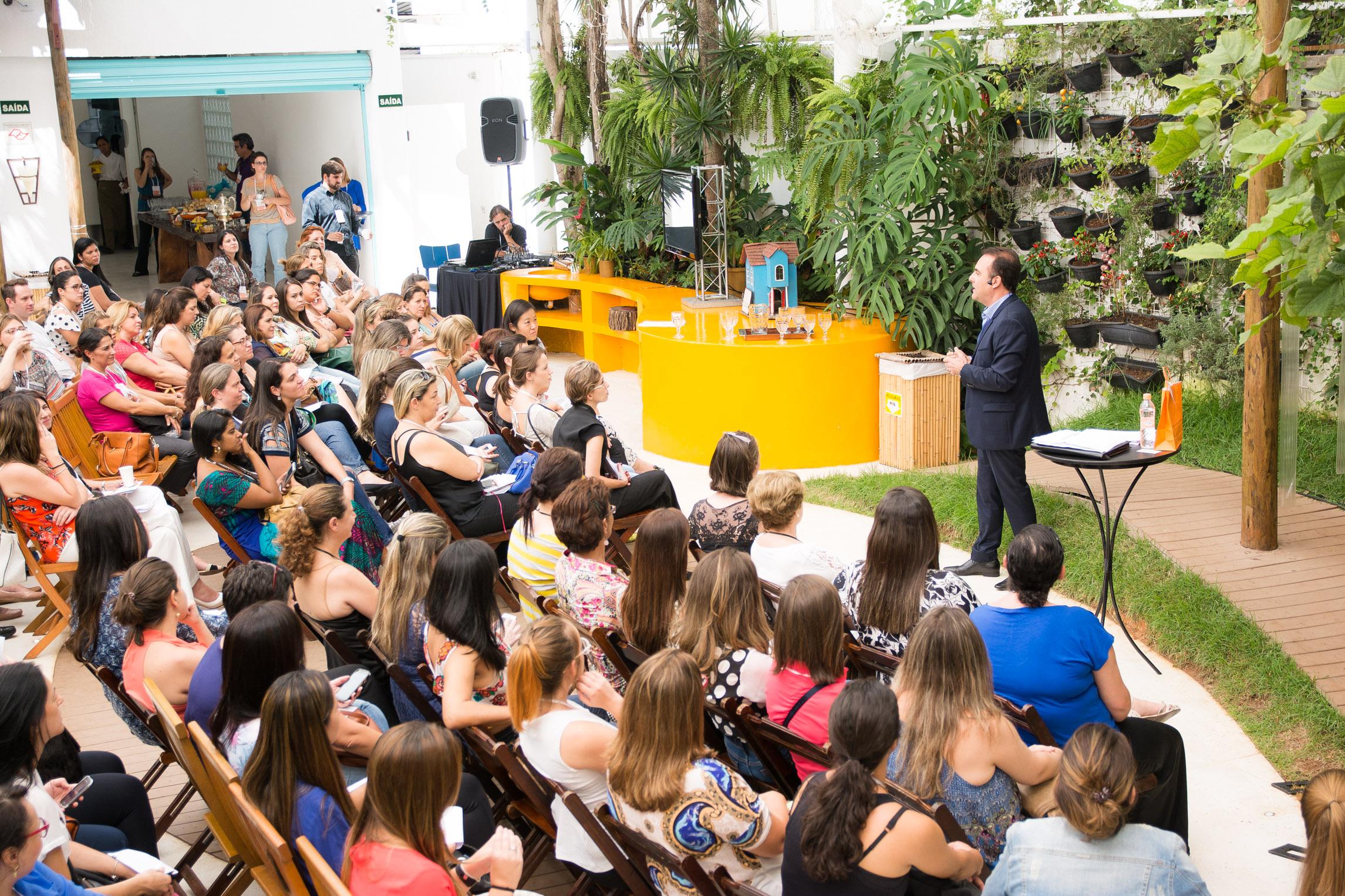 Cafestivo: de olho nas oportunidades e aprendizados. Essa foi a palestra de Eduardo Cincinato, da Cromus (crédito da foto: Kika Rodrigues)