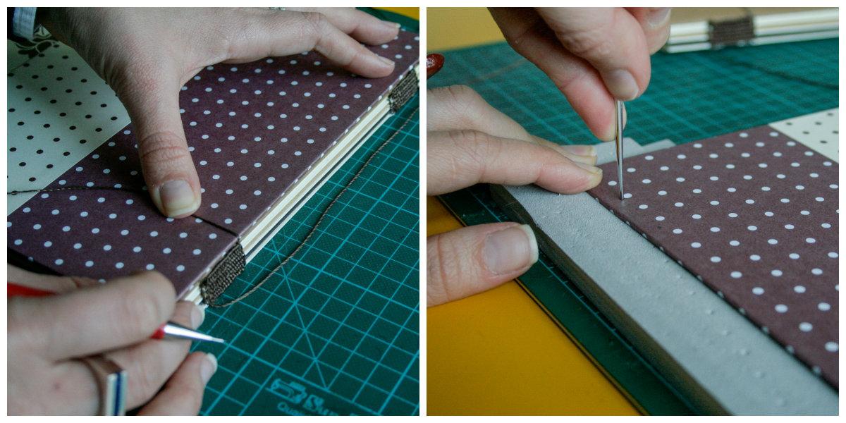 colagem costura capa