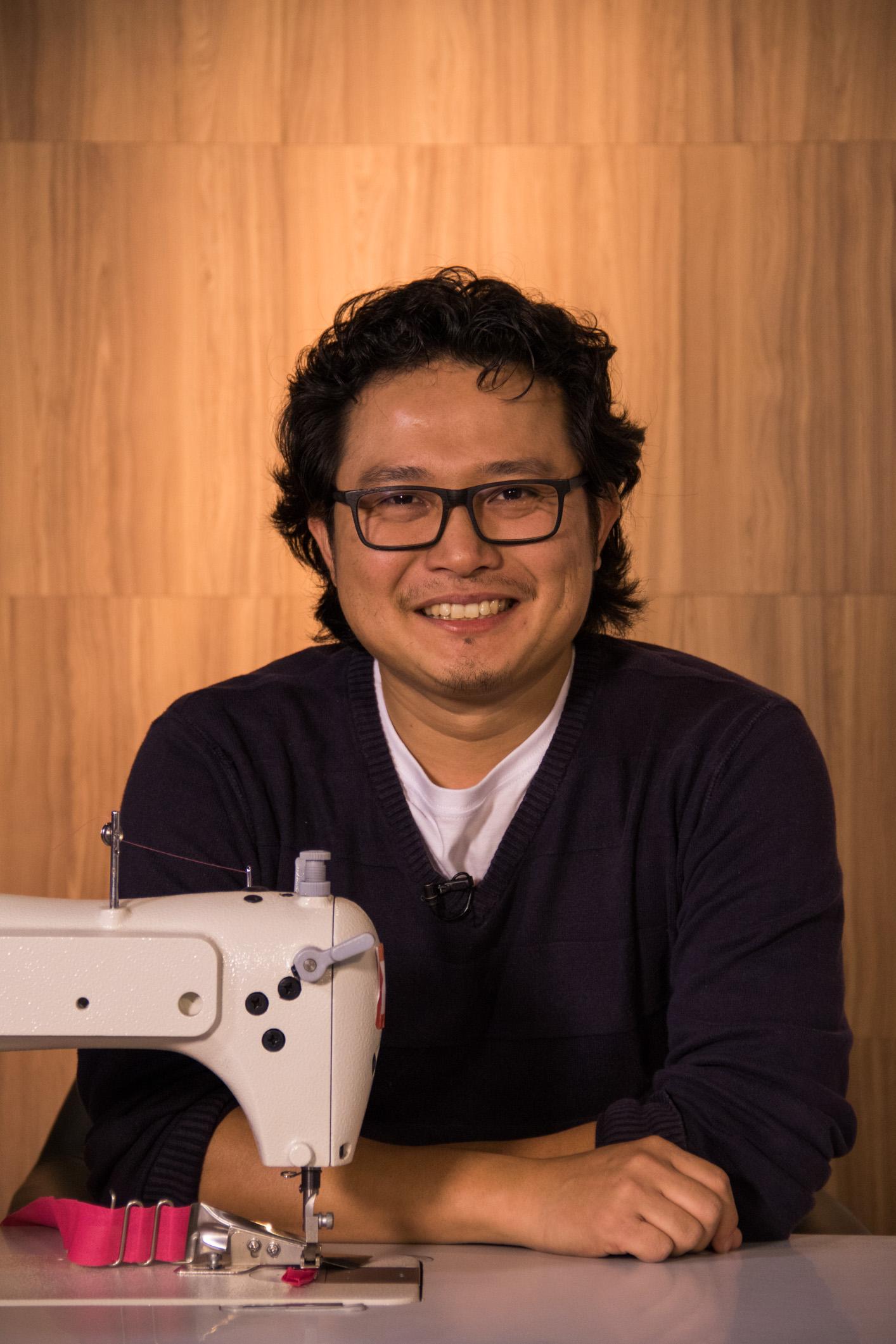 Yuji Sato durante curso da eduK