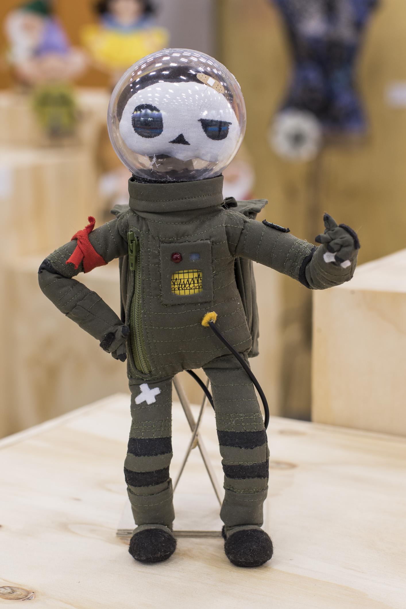 O Astronauta Morto, por Tio.Faso