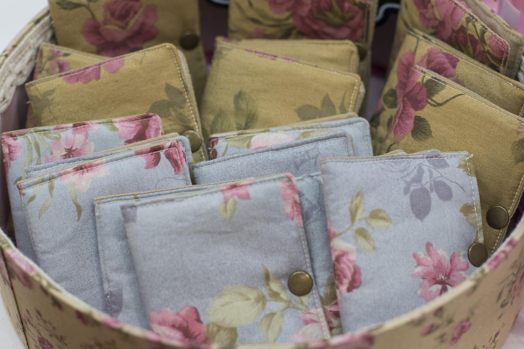 Delicadass carteiras feitas de tecido