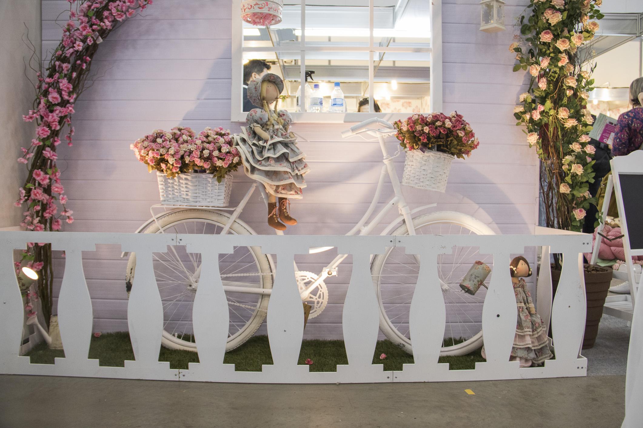 A bicicleta de 1949 foi reciclada e ficou um charme!