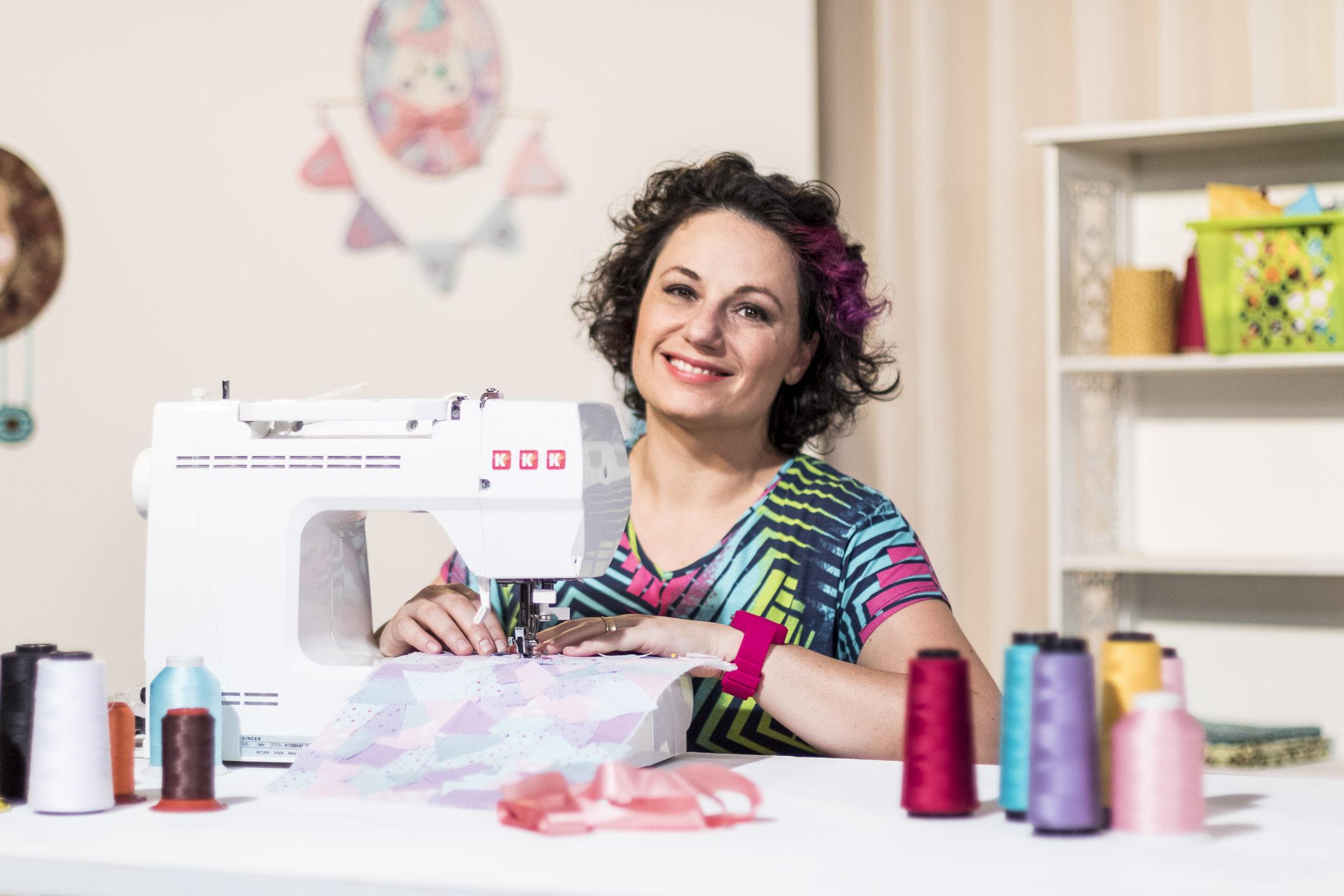 Nanda Sellan: trabalho com amor e dedicação, em curso da eduK