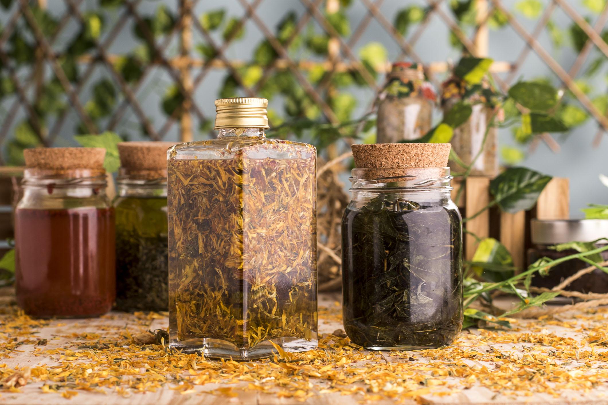 Compostos botânicos usados na cosmética natural