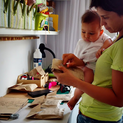 Mãe-artesã-empreendedora: tudo ao mesmo tempo agora!