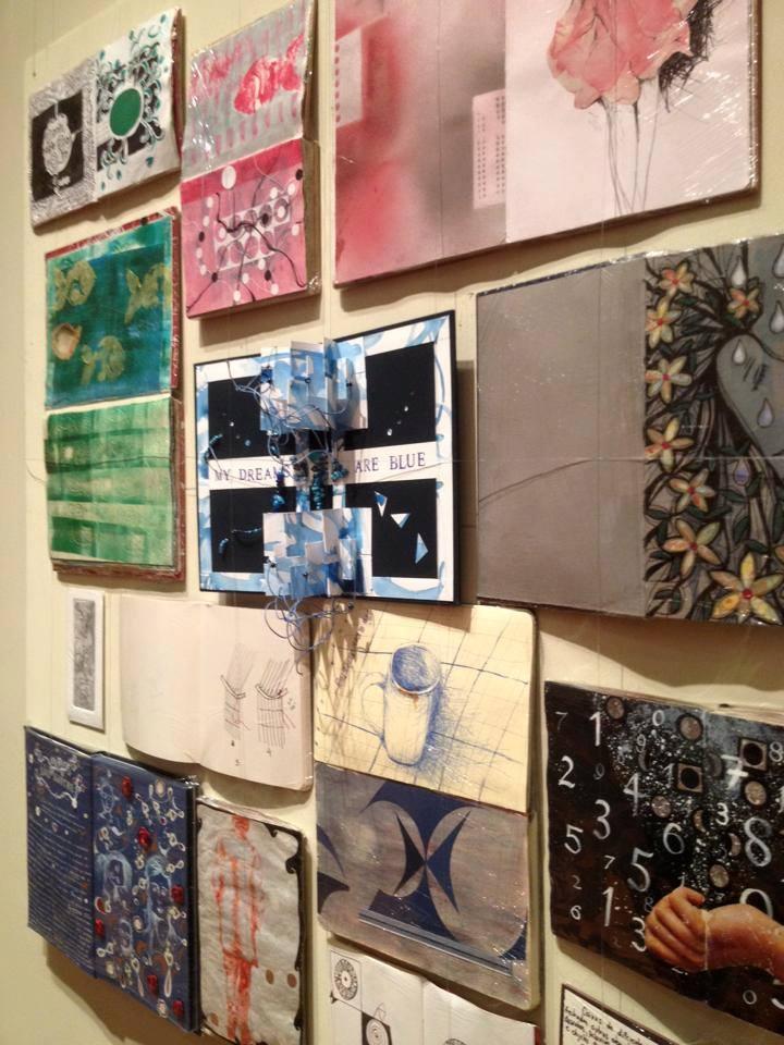 O painel de 1m x 1m amplia as possibilidades de uso dos sketchbooks